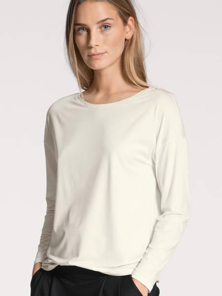 Bilde av Calida MicroModal Shirt, Str 36-50, White