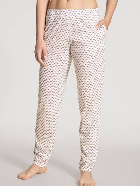 Bilde av Calida Modal/Cotton Pants, Str 36-50, Star White