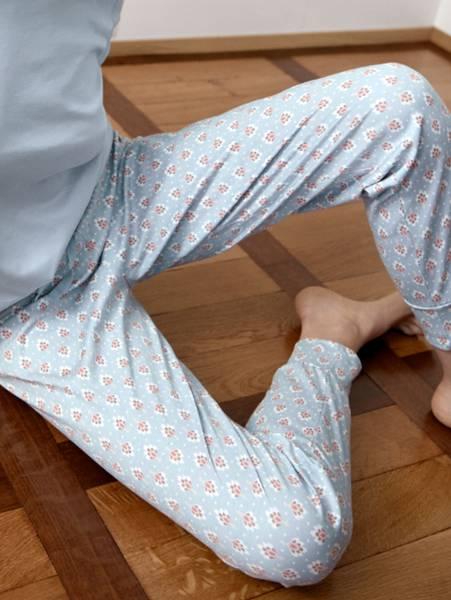 Bilde av Calida 100% Premium Cotton Pants, Str 36-50, Blue