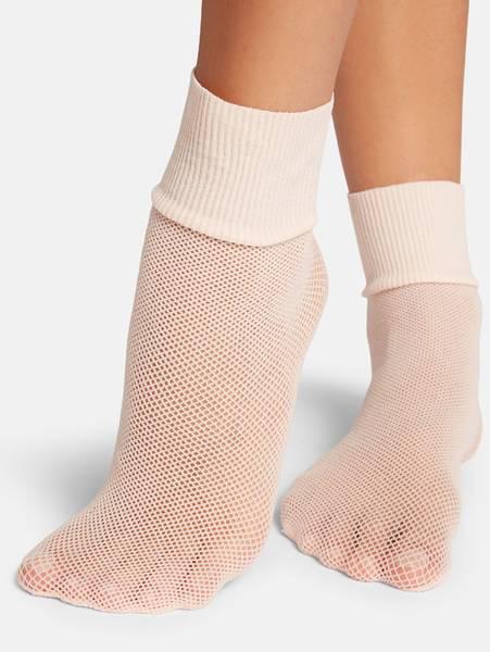 Bilde av Wolford Roller Socks, One Size, Pink Sky