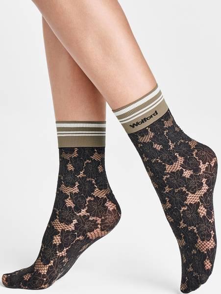 Bilde av Wolford Dakota 20 Socks, One Size, Hunter