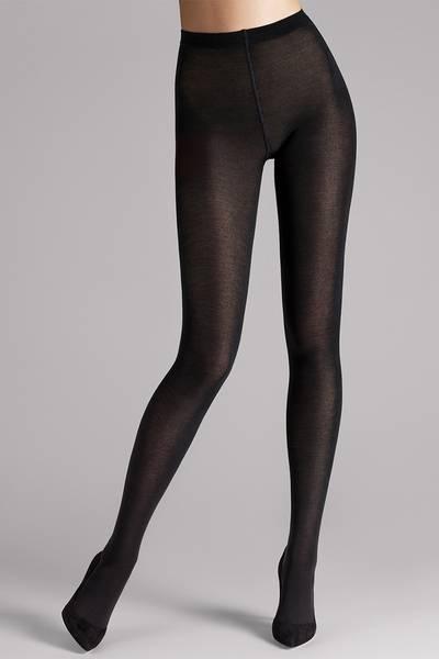 Bilde av Wolford Merino Tights, Str XS-XL, Black
