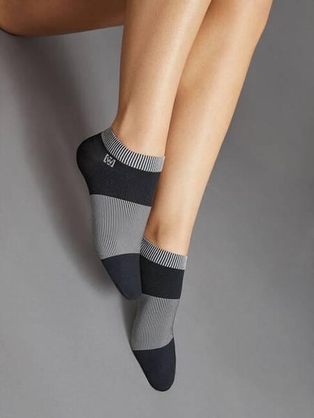Bilde av Wolford W-Play Ankle Sokcs, Str S-M