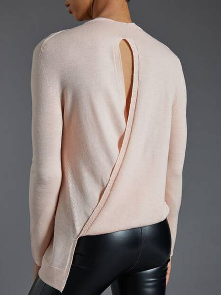 Bilde av Wolford Aurora Bio Fine Wool Pullover, Str S-L, Pink