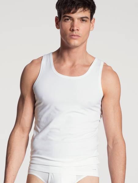 Bilde av Calida Cotton Code Tank Top, Str  S-XXL, White