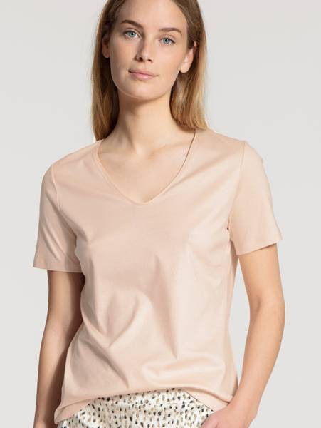Bilde av Calida Supima Cotton Shirt, Str 36-50, Pink