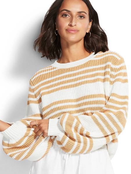 Bilde av Seafolly Sails Stripe Knit Sweater,  Str M og L igjen