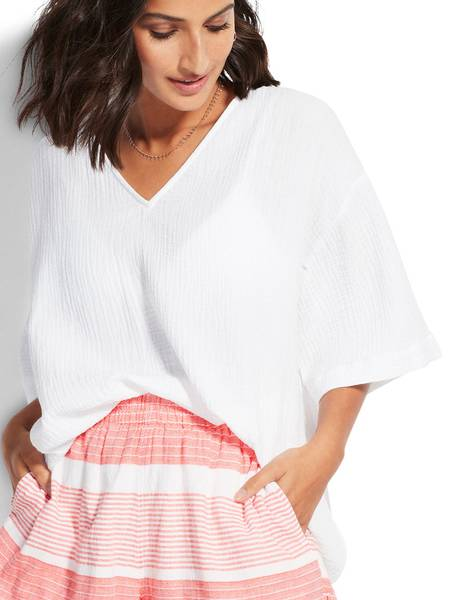 Bilde av Seafolly Cotton Shirt, Str XS igjen