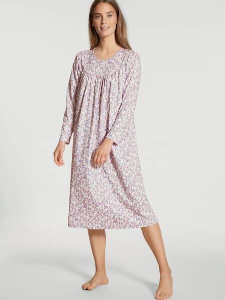 Bilde av Calida Soft Cotton Nightdress LS, Str 36-54, Lavender