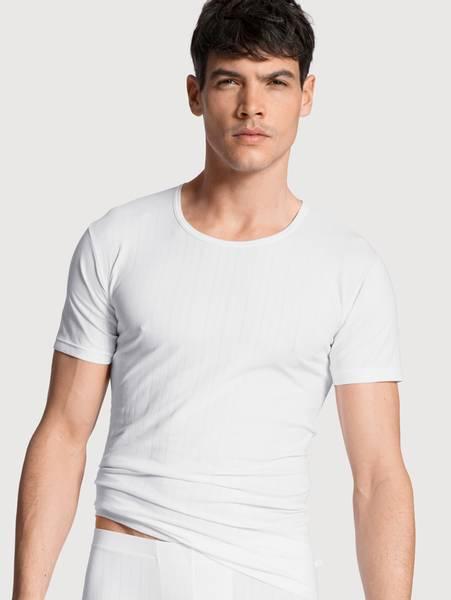 Bilde av Calida Pure Cotton Shirt, Str S-XXL, White