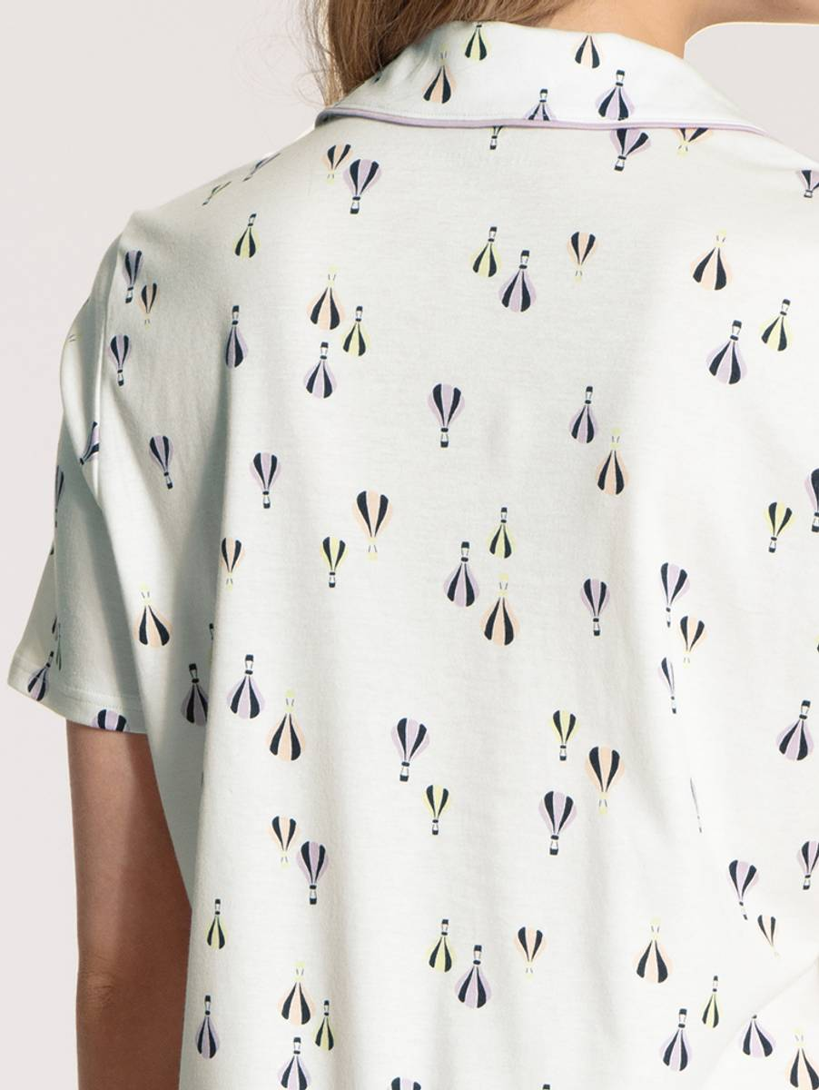 Calida Supima Cotton Short Pyjamas, Str 36-50, Balloon
