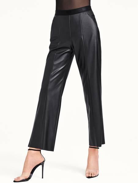Bilde av Wolford Estella Faux Leather Trousers, Str S  - L