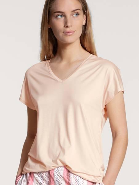 Bilde av Calida MicroModal Shirt SS, Str 36-50, Rose