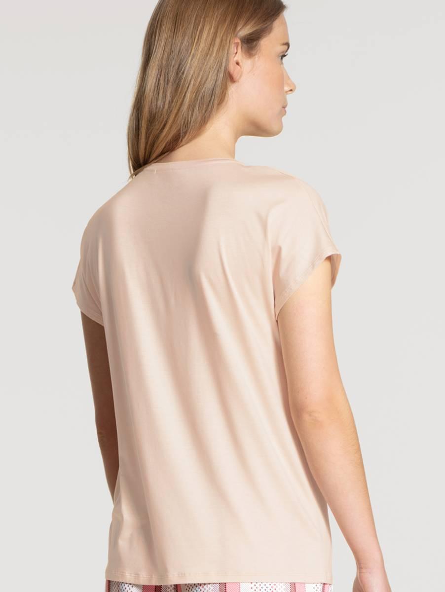 Calida MicroModal Shirt SS, Str 36-50, Rose
