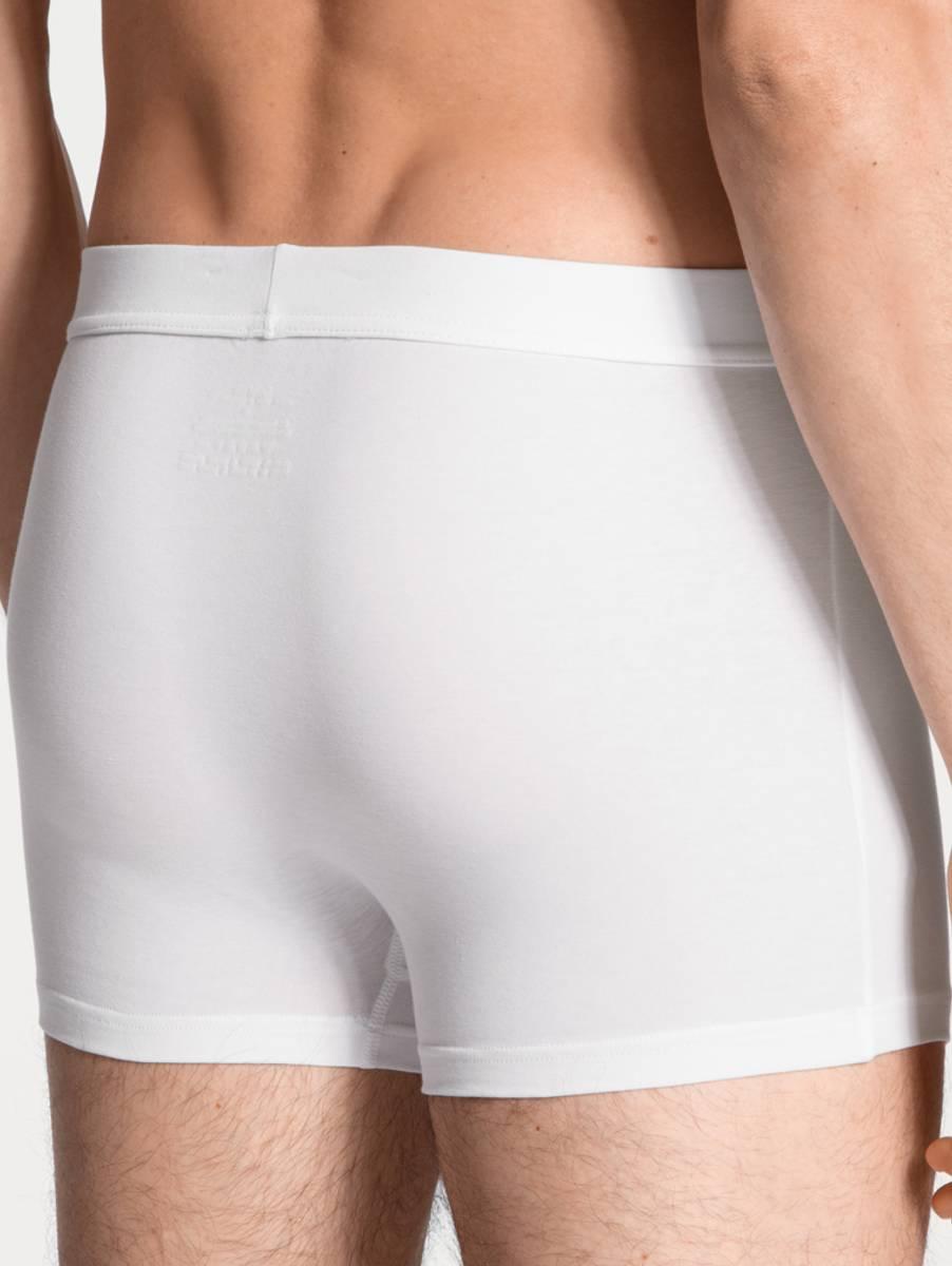 Calida Cotton Code Boxer Brief, Str  S-XXL, White