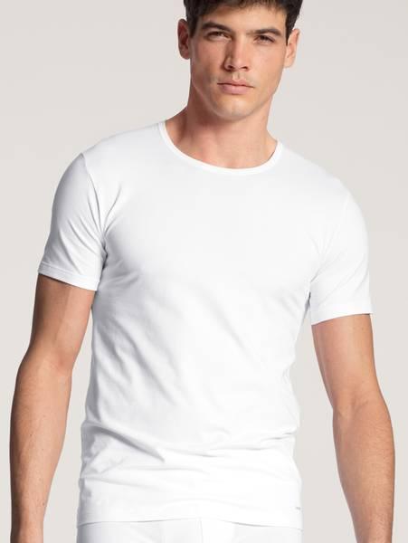 Bilde av Calida Cotton Code Shirt, Str  S-XXL, White