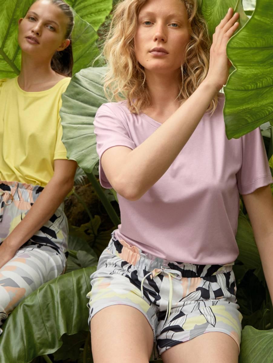 Calida Modal/Cotton Shirt SS, Str 36-50, Lavender