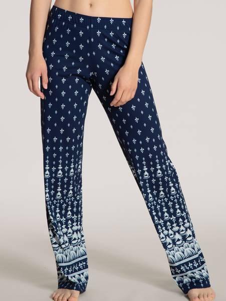 Bilde av Calida Modal/Cotton Pants, Str 36-50, Twilight Blue