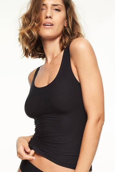 Bilde av Chantelle Soft Stretch Tank Top, One Size, Black