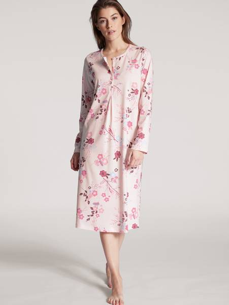 Bilde av Calida 100% Premium Cotton Nightdress, Str 36-54, Pink