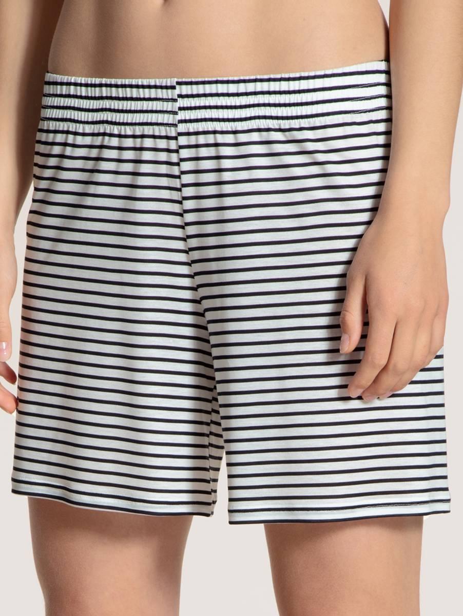 Calida 100% Nature Shorts, Str 36-46, Stripes