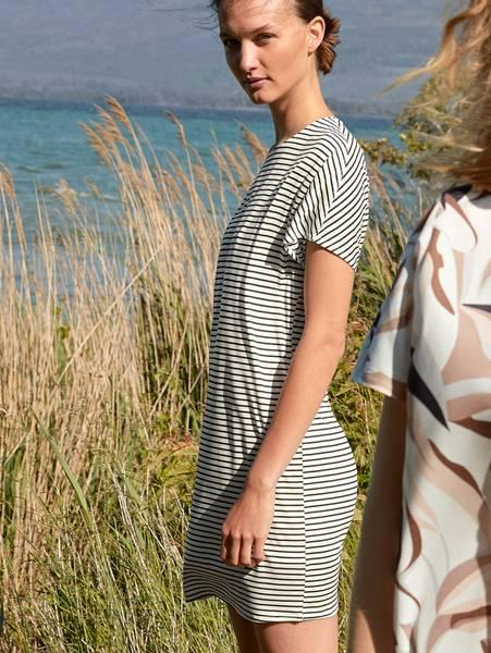 Bilde av Calida 100% Nature Sleepshirt, Str 36-50, Stripes