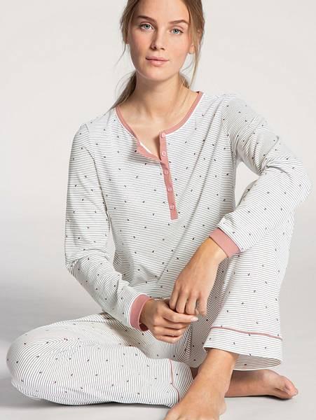 Bilde av Calida 100% Premium Cotton Pyjamas, Str 36-50, Rose