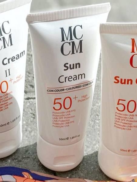 Bilde av MCCM Face Sun Cream SPF 50+, 50ml, Dark Tan