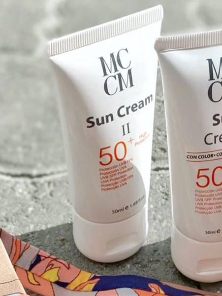 Bilde av MCCM Face Sun Cream SPF 50+, 50ml, Light Tan