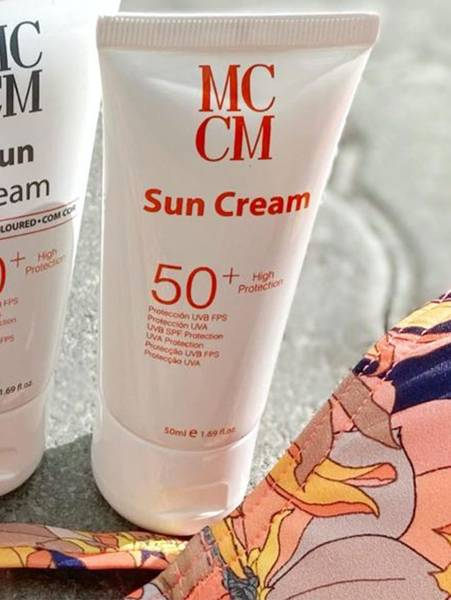 Bilde av MCCM Face Sun Cream SPF 50+, 50ml, Uten Farge