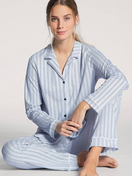 Bilde av Calida 100% Premium Cotton Pyjamas, Str 36-50, Stripe