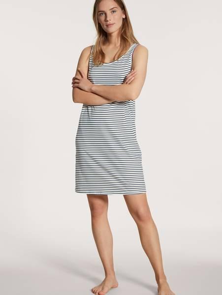 Bilde av Calida 100% Premium Cotton Dress, Str 36-50, Stripes