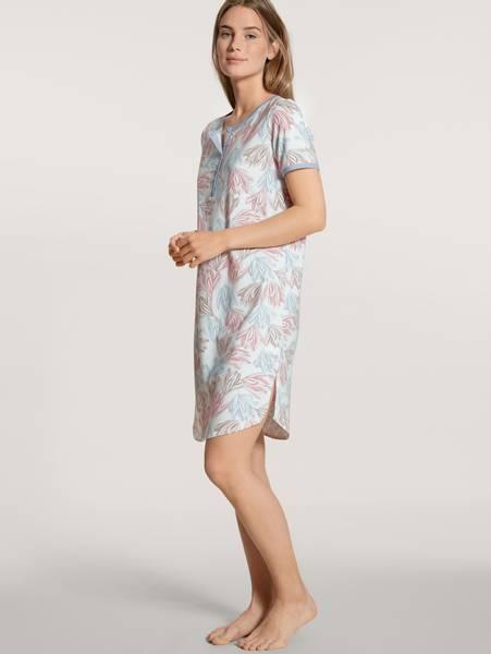 Bilde av Calida Cotton Sleepshirt, Str 36/38 og 52/54 igjen, Blue