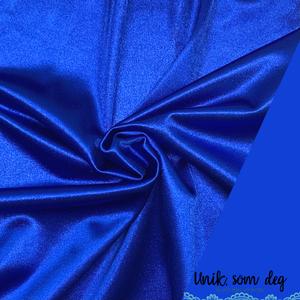 Bilde av Stretch sateng | konge blå