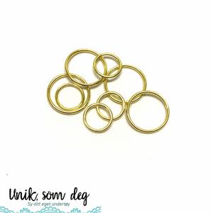 Bilde av Metallringer til stropper | gull | flere