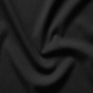 Bilde av Badetøystoff ribb sort