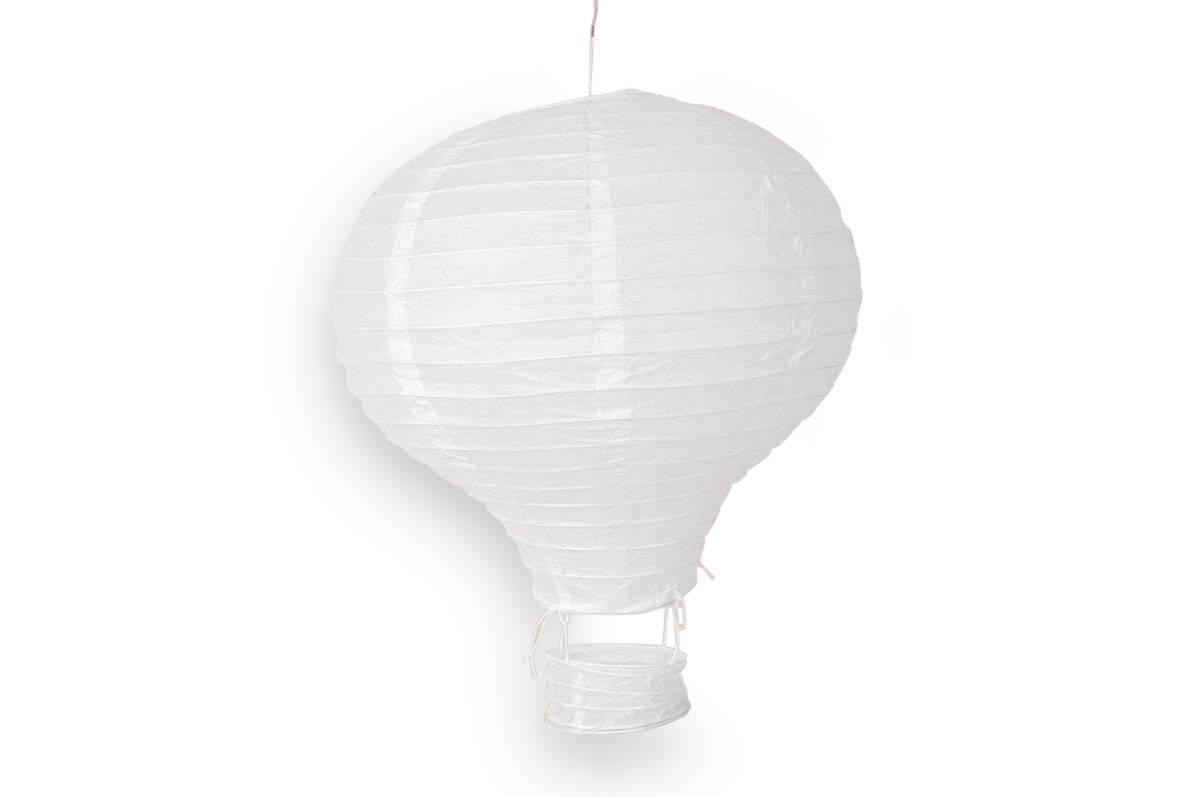 Luftballong, hvit