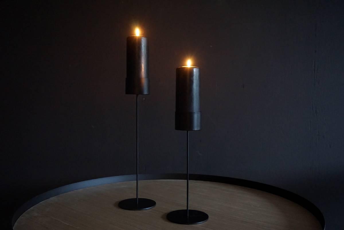 Lysestake til kubbelys, 40 cm
