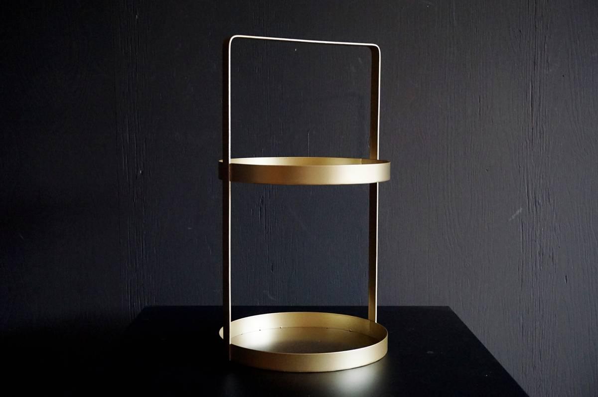 Etasjefat metall, 45 cm
