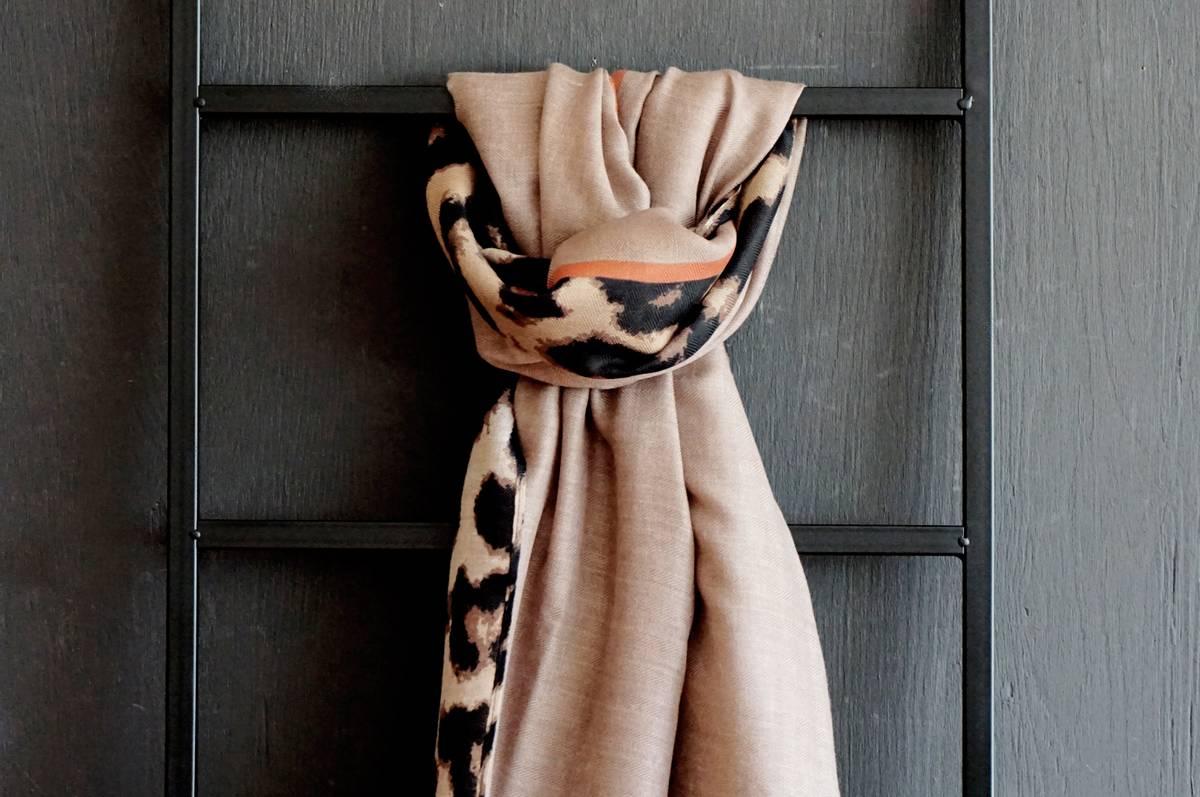 Skjerf, 180 cm, polyester