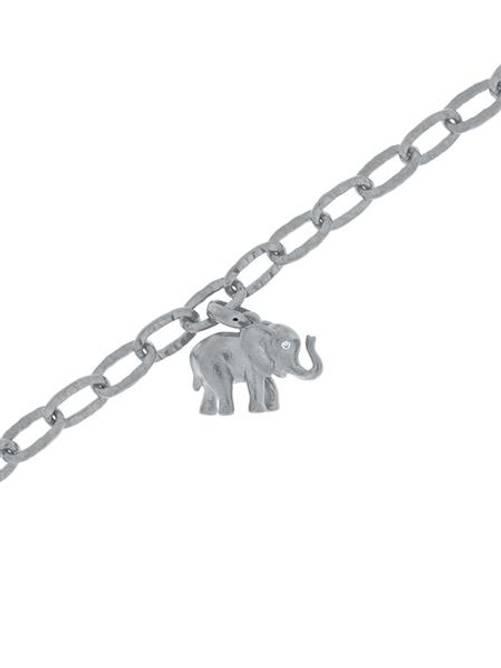 Bilde av Lykkeelefanten Armbånd i sølv