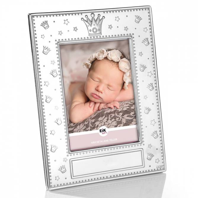 Bilde av 4-kantet fotoramme prinsesse