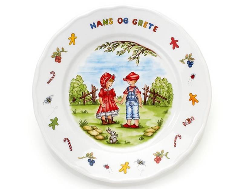 Bilde av 3-d porselen Hans og Grete