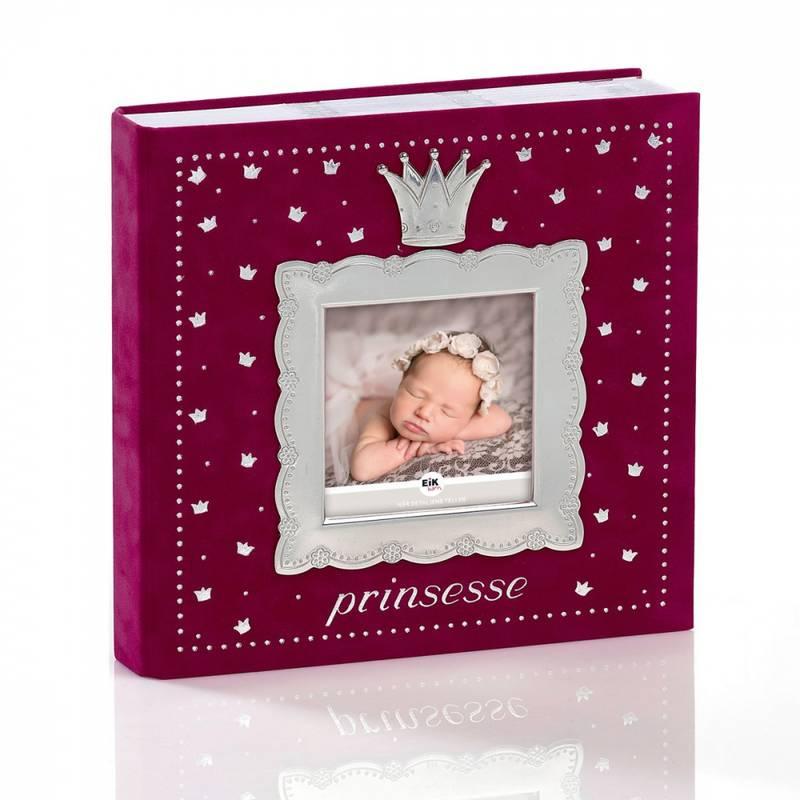 Bilde av Fotoalbum prinsesse mørk rosa