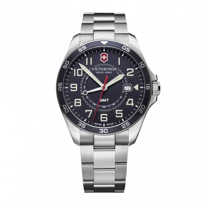 Bilde av Victorinox Fieldforce GMT 42 Blue Dial Bracelet