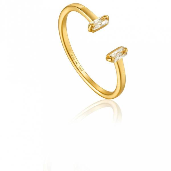 ANIA HAIE GLOW ADJUSTABLE RING 925S R018-04G