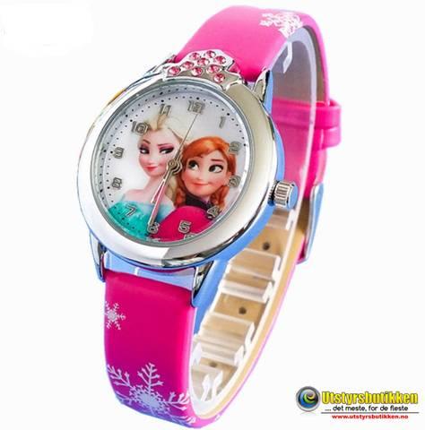Bilde av Frost klokke deluxe - Elsa og Anna