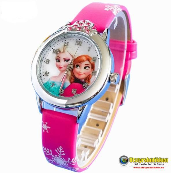 Frost klokke deluxe - Elsa og Anna