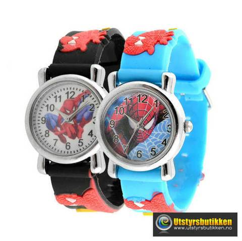 Bilde av Spiderman klokke