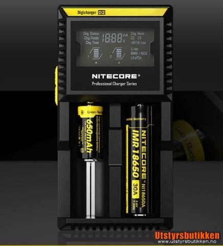 Bilde av Nitecore Digicharger D2 batterilader